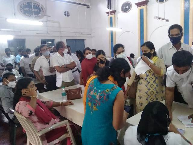 Vaccination to young advocates- ಮಂಗಳೂರು ಯುವ ವಕೀಲರಿಗೆ ಆದ್ಯತೆ ಮೇರೆಗೆ ಲಸಿಕೆ ಕಾರ್ಯಕ್ರಮ