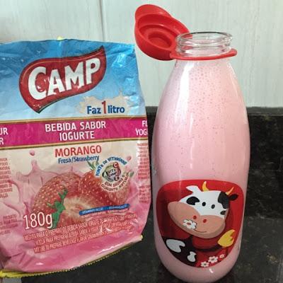 iogurte em pó camp