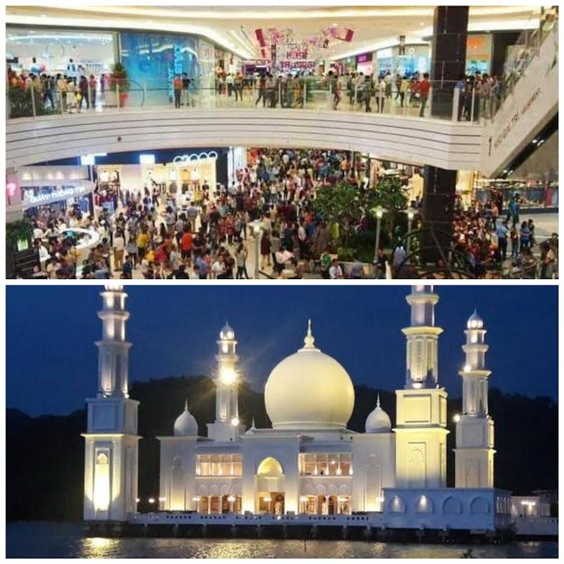 Antara Mall dan Masjid, Penting Manakah?