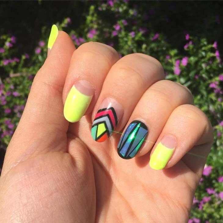 glass nail Art designs trends 2017 - style you 7