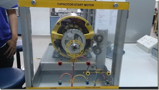 Capacitor-start motor