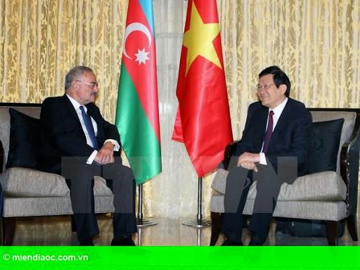 Hình 1: Dầu khí là trọng tâm hợp tác kinh tế giữa Việt Nam-Azerbaijan