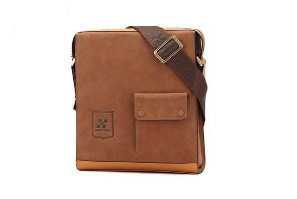 Túi đeo chéo da lộn HT02