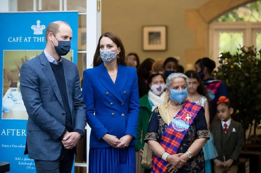 Kate Middleton reunites with Prince William for start of 'nostalgic' Scotland tour