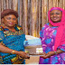 Aisha Buhari, Patience Jonathan meet at Aso Villa