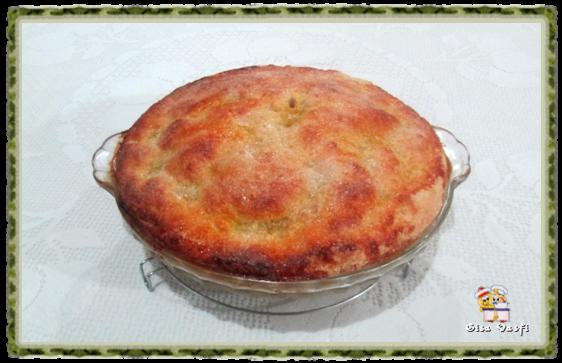 Torta de pêssegos Refém 1