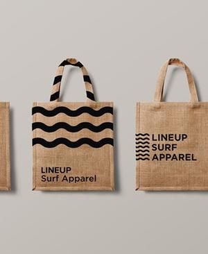 Interesantes conceptos de diseños de bolsas de compra para descargar
