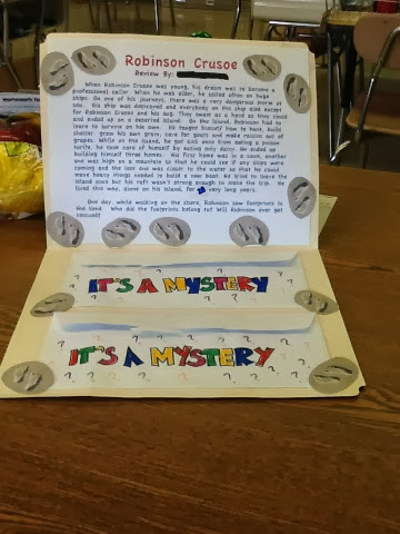 mystery book report for fourth grade