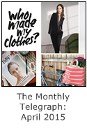 the monthly telegraph sustainable fashion and style 2015