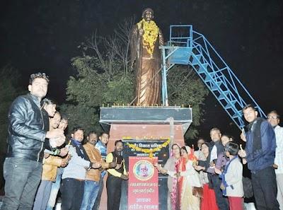 रजक महासमाज युवा इकाई इंदौर द्वारा रजक समाज के राष्ट्रीय संत श्री गाडगे बाबा की पुण्यतिथि 20 को
