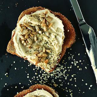 Seedy Hummus Toast