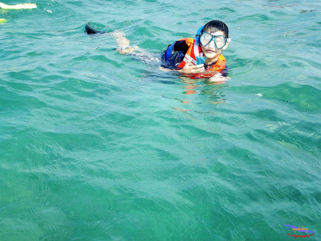 family trip pulau pari 140716 Fuji 078