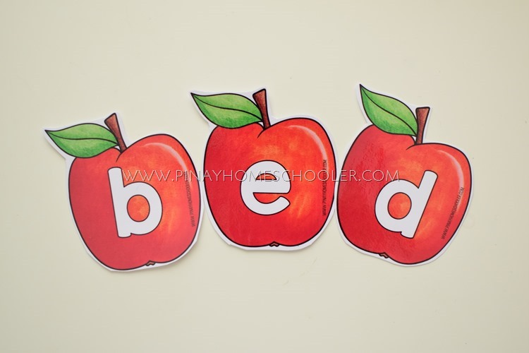 APPLE THEMED MOVEABLE ALPHABET