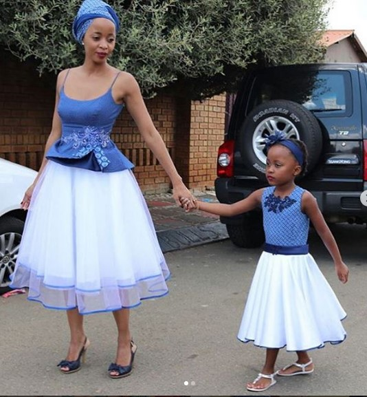 Shweshwe Dresses For Woman 2018 4