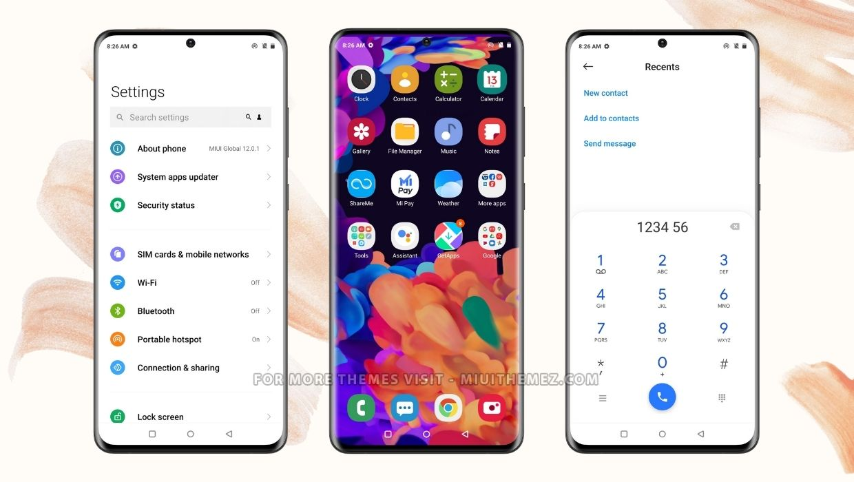 Samsung Galaxy S20 MIUI Theme