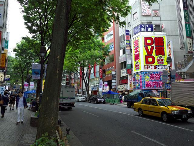 渋谷道玄坂の通り
