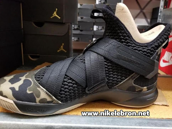 First Look at Nike LeBron Soldier 12 Hazel Rush
