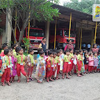 Field trip to Fire station by Jr Kg Section at Witty World, Chikoowadi (2018-19)