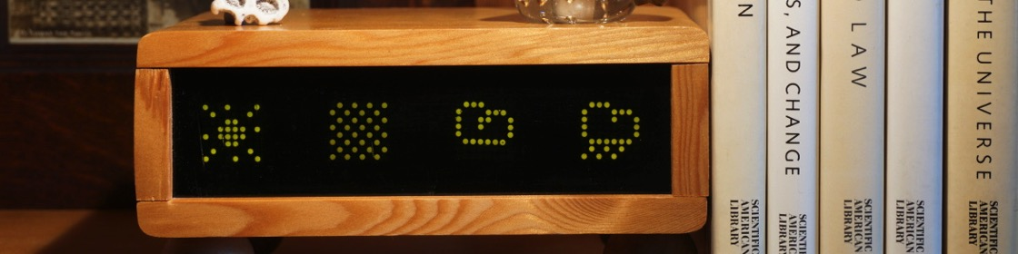 Project: Raspberry Pi based weather forecast display from caternuson