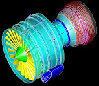 Highly heat resistant material used to make turbo fan engine parts