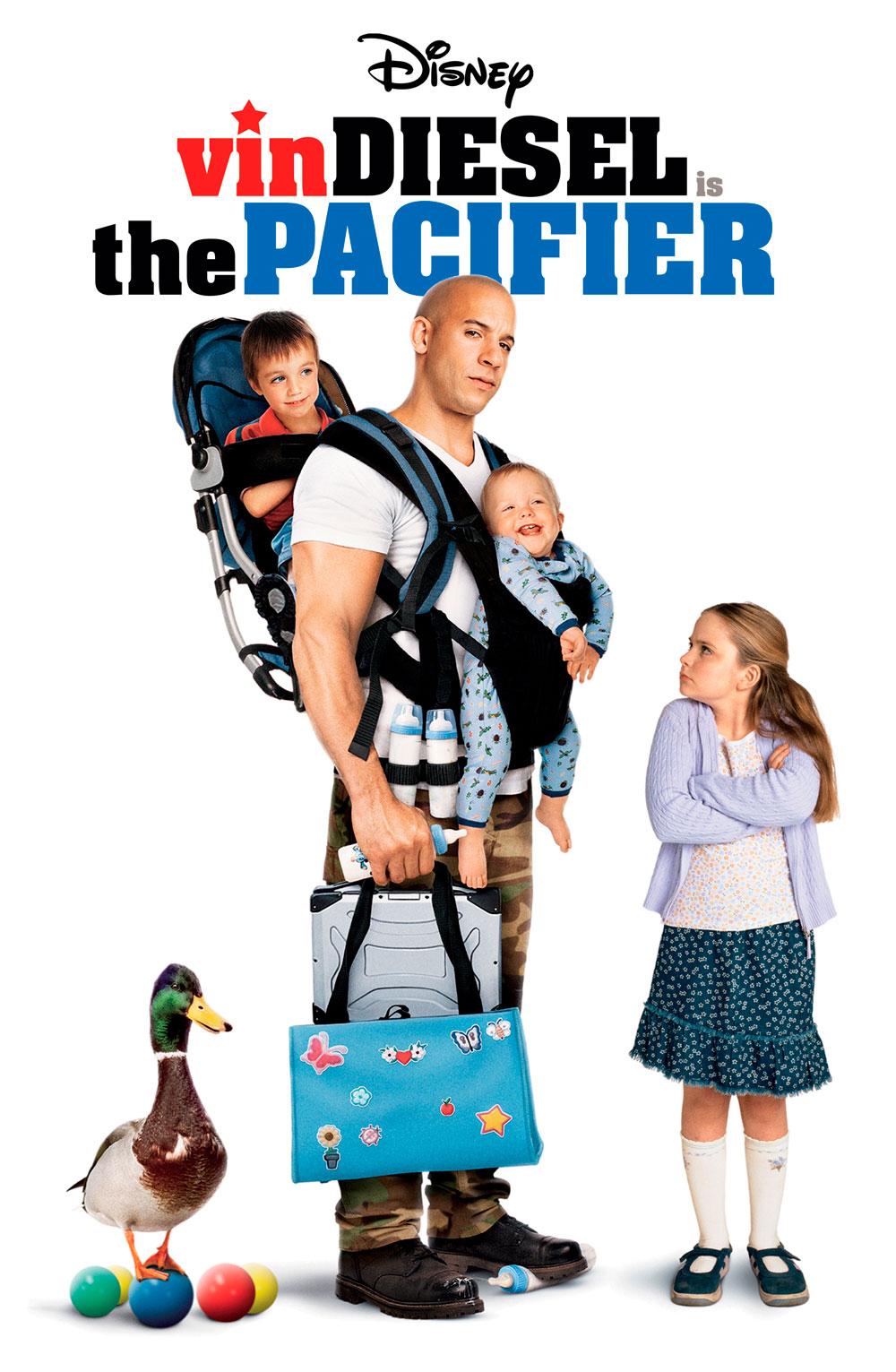 Vệ Sĩ Bất Đắc Dĩ - The Pacifier (2005)
