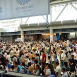 large crowds at Comiket 84 - Tokyo Big Sight in Japan in Tokyo, Tokyo, Japan