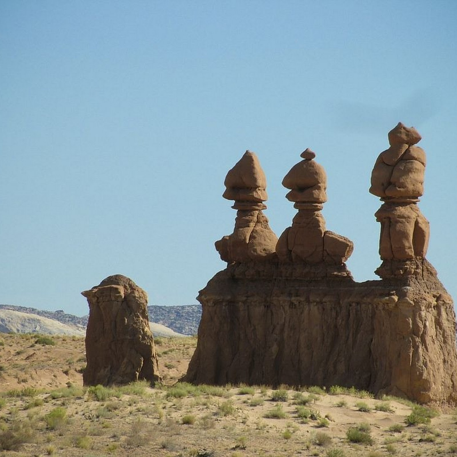 The Hoodoos of Goblin Valley State Park