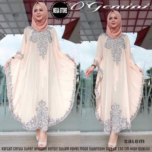 Model Gamis Batik Modern Terbaru 2019 Masion Tv