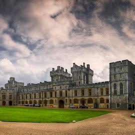 Windsor Castle Courtyard by Krasimir Lazarov - Buildings & Architecture Public & Historical ( windsor, courtyard, castle, united kingdom, building, architecture )