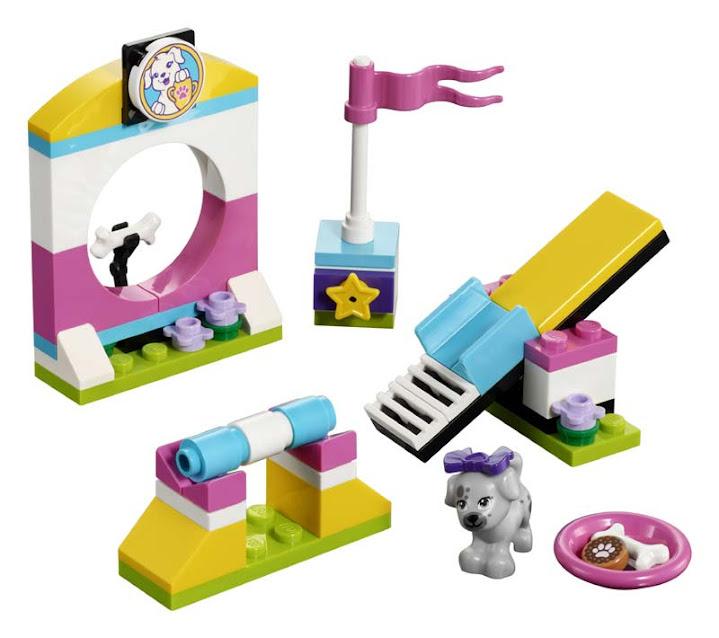 Contenido de Lego® 41303 Parque para Mascotas