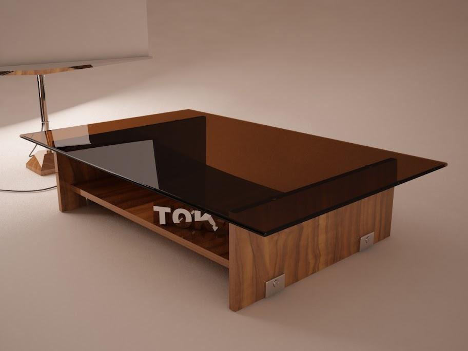 Mesa de centro - 3DS MAX - Free 3D Models