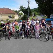 Oslava dne dětí - cyklistická soutěž