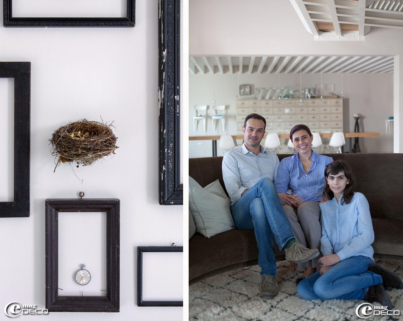 Claudia, Carlo et Isabel de la maison d'hôtes 'Malatesta' en Italie