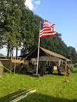 Stars and stripes - Market Garden basecamp in Veghel. September 2014