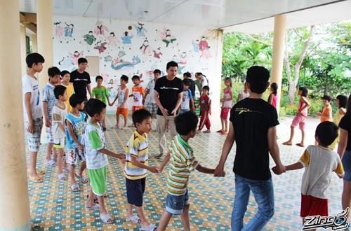 Game thủ Zing Speed làm từ thiện tại Đà Nẵng 1