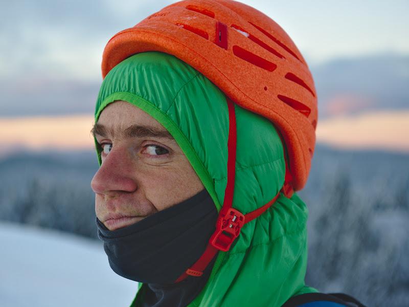 Expresia lui Stefan, inainte de a sti ca urmeaza 1h30 de crosfit pe schiuri pe forestier.