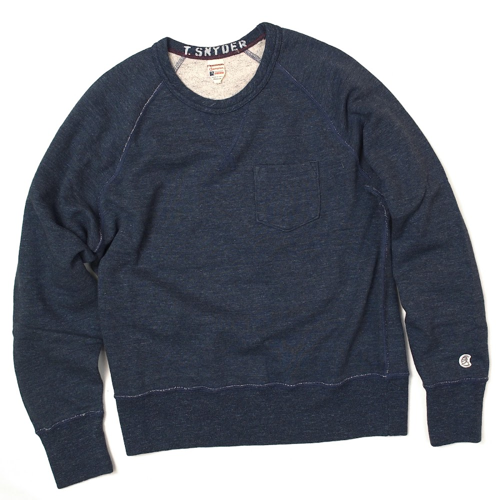 Todd Snyder x Champion / Classic Pocket Crew Sweatshirt