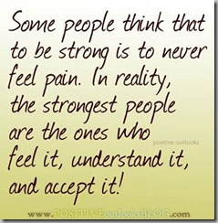 strong do feel pain