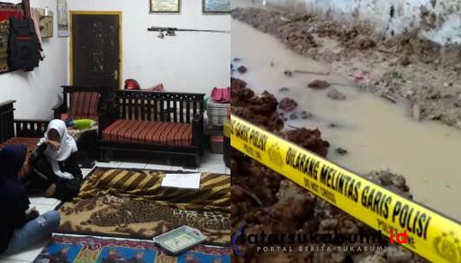 Suasana duka selimuti rumah keluarga korban tewas tertimpa longsor di Cicurug Sukabumi / Foto : Isep Panji (10/11/2019)