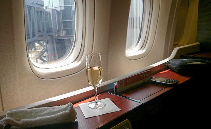 JL%252520F%252520HND LHR 64 - REVIEW - JAL : First Class - Tokyo Haneda to London (B77W)