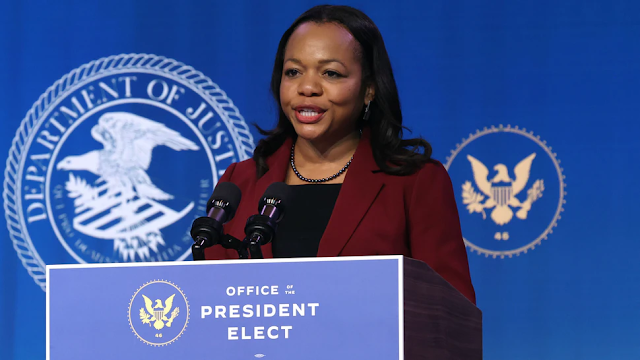Biden Nominee To Lead DOJ Civil Rights Division Wrote In Letter: 'Melanin Endows Blacks With Greater' Abilities