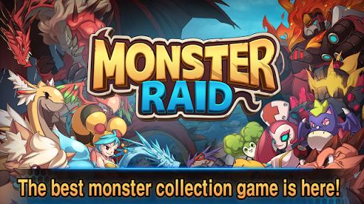Monster Raid V1.0.5 Mod Apk + Data (Massive Attack)