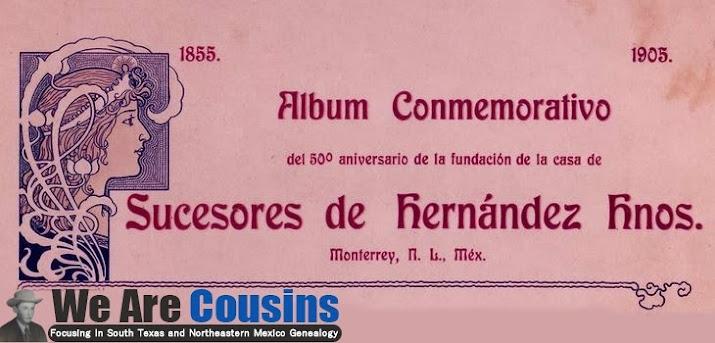 Album Conmemorativo del 50 aniversario de la fundacion de la casa de sucesores de hernadez hnos