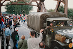 GMC truck corridor tour, Grave bridge - Market Garden 1994