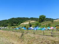 A sátortábor  is felépült.JPG