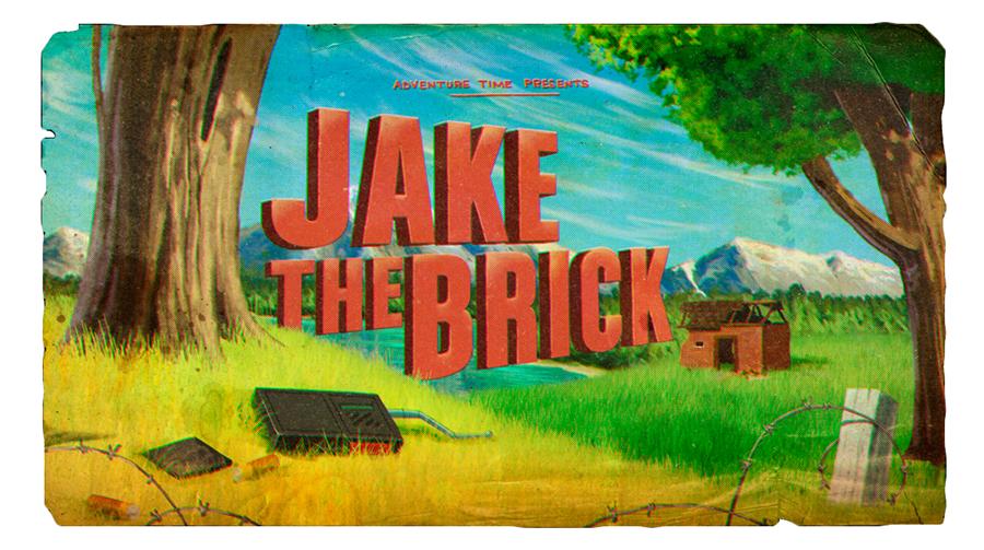 Hora de Aventura: Jake, o Tijolo