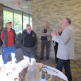 Archaeologist  Liam Collins shares newly found local artifacts.