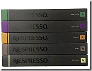 Nespress Mixed Variety Coffee Pods