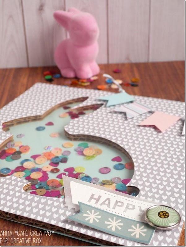 decorazione Pasqua Lovable Bunny -sizzix