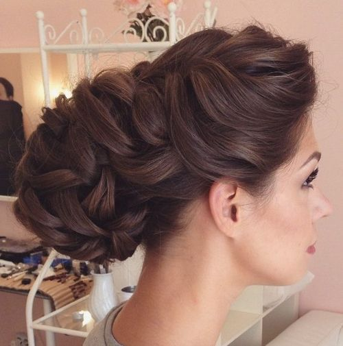 Top Smart Wedding Hair Updos In Current Year For Brides 2017-2018 18